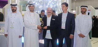 NIT and Cayenne Technologies received the Award from Government of Ajman at GITEX 2017