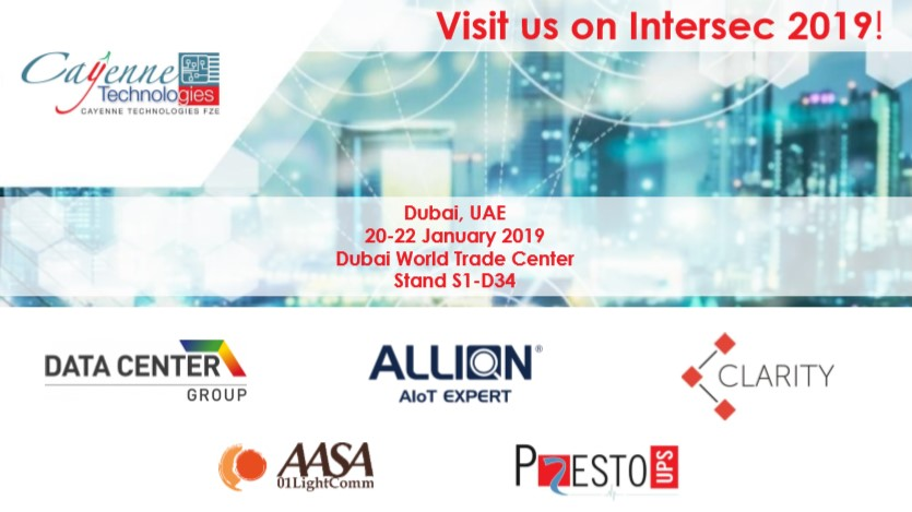 Visit us on Intersec 2019!